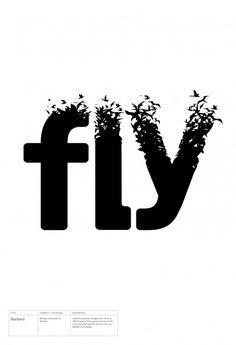 Blackbird – Bird Type Manipulation of Soolidium Font