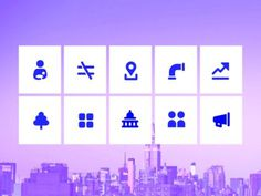 Featuring Community symbolset icons https://symbolset.com/icons/community on The Mayor's brand new plan for the city of New York #symbols #iconography #onenyc