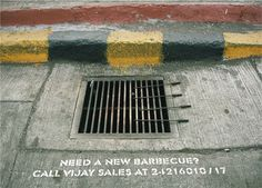Vijay Barbecue Guerilla Marketing