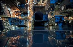 New York Photography Looks Like From The Edge Of A Skyscraper #city #building #taxi #street #york #new