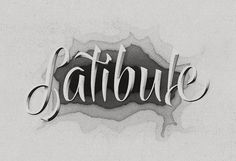 Latibule #dead #words #typography