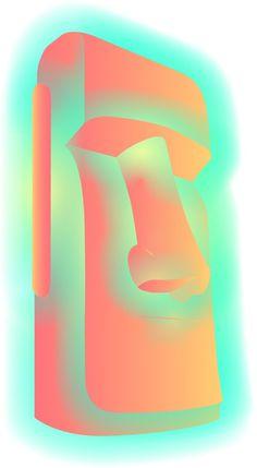 u v e e #sculpture #island #easter #god #neon