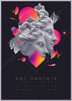 Not Another Launch Party Flyer Artwork