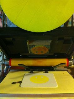 All sizes | Smile! | Flickr - Photo Sharing! #print #letterpress #coaster