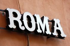 Typeverything.com Signage Roma. (by id29design) #roma
