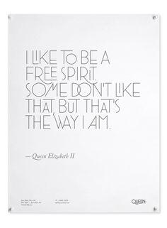 Queen Poster #queen #poster #typography