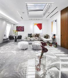 Search London Penthouse Renovation for a Young Art-Collector Couple