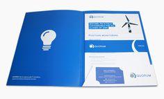 Folder Design #print #design #logo #grid #layout #folder