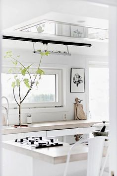 dream house: the kitchen window / sfgirlbybay #interior #design #decor #kitchen #deco #decoration