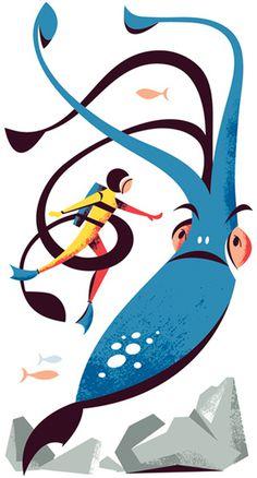 Monocle Mediterraneo - Matt Chase | Design, Illustration #illustration