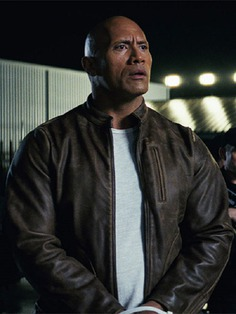 Rampage Davis Okoye Dwayne Johnson Leather Jacket