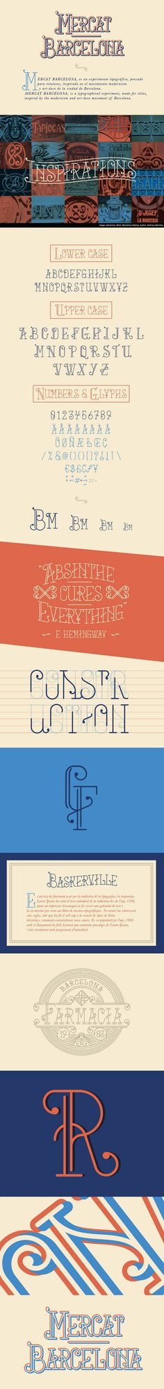Mercat Barcelona – free Typeface