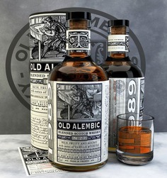 Old Alembic Blended Scotch Whisky on Packaging of the World - Creative Package Design Gallery