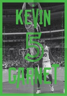Celtics Playoff Guide : Michael Mercer Brown : Graphic Design #garnet #print #celtics #poster #sport #nba #basketball