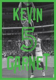 Celtics Playoff Guide : Michael Mercer Brown : Graphic Design #print #poster #basketball #sport #nba #celtics #garnet