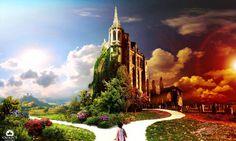 Fantasy World Kingdom Desktop Wallpaper Hd – WallpapersBae