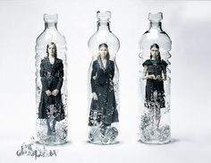 'The Editions': Oldie. #water #photomanipulation #kendallhenderson #bottles #kendall