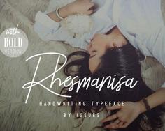 Rhesmanisa - Handwriting Script Font