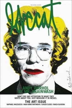 Lovecat 3 - Coverjunkie.com #andy #design #graphic #warhol #cover #hand #magazine #typography