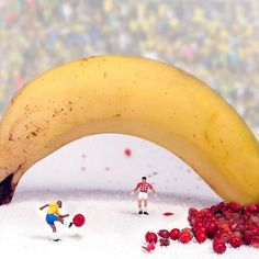 william-kass-16 #scale #banana #world #food #photography #miniature