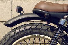 Honda CG125 #fender #moto