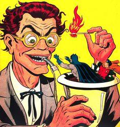 ... smoked to death!   Flickr Photo Sharing! #comic #batman