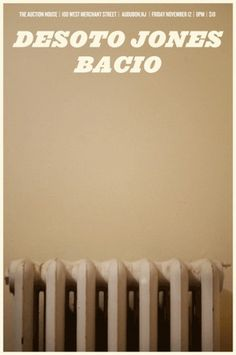 John Helmuth | Portfolio #tan #flyer #poster #radiator #apartment #bacio