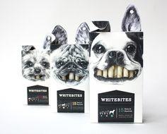 Whitebites on Packaging Design Served