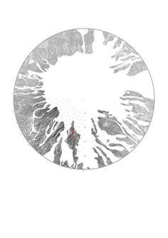 Scrapbook #naples #plan #flow #montage #vesuvius #lava #volcano #keir #circle