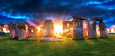 In Memory of Weaver Knight by Jonathan Hasson #stonehenge #sunrise #sunset #light #england