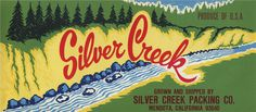 All sizes   Silver Creek   Flickr Photo Sharing! #packaging #food #label #vintage #type
