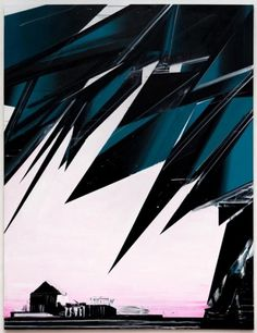 Phil Ashcroft // WORKS - Paintings #illustration #abstract #painting #jagged