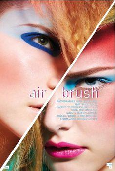Airbrush | Volt Café | by Volt Magazine #beauty #design #graphic #volt #photography #art #fashion #layout #magazine #typography