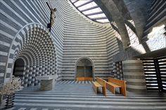 CJWHO ™ (Church of San Giovanni Battista by Mario Botta) #church #design #interiors #photography #architecture