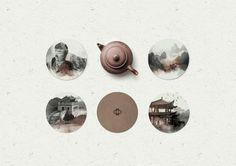 #Coasters #menu #design #restaurant #watercolor #branding #asian