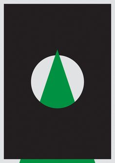 //// #geometry #minimalism #triangle #poster #circle