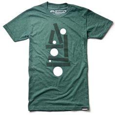 BALANCE #minimal #ugmonk #tshirt #apparel #clothing #lines #balance #dot dash