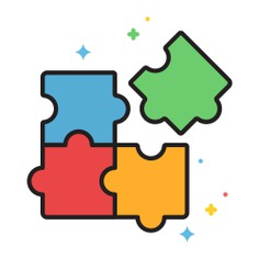 See more icon inspiration related to plan, fit, jigsaws, business and finance, kid and baby, hobbies and free time, puzzle pieces, puzzle game, creativity, strategy, gaming, puzzle and pieces on Flaticon.