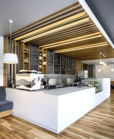 Cafe Corner by Ideograf - #decor, #interior, #restaurant