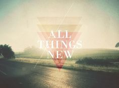 All sizes | All Things New | Flickr - Photo Sharing! #line #new #all #triangle #things #typography
