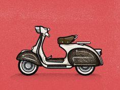 Nick Slater: Badge Beast | Allan Peters' Blog #nick #illustration #slater
