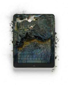 Adapt » Blog Archive » How Apple makes me feel. Sometimes. #ipad #destroy #apple #trash