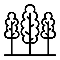 See more icon inspiration related to forest, ecology and environment, pines, trees, woods, landscape and nature on Flaticon.