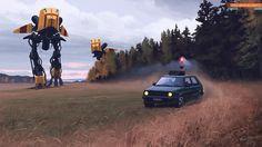Simon Stålenhag Art Gallery #simon #painting #stlenhag #art