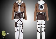 AoT Annie Leonhardt Military Police Cosplay Costume #leonhardt #costume #annie
