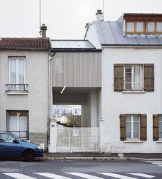 A Suspended Room by NeM Architectes #modern #design #minimalism #minimal #leibal #minimalist