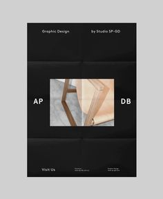 AP-DB by Studio SP-GD #stationery #branding #poster