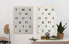 Kristina Krogh Studio #calendar #screen #print