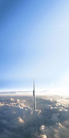 Kingdom Tower Adrian Smith + Gordon Gill Architecture #gill #kingdom #smith #adrian #gordon #skyscraper #architecture #tower