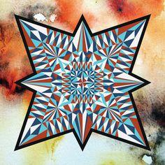 diamond_star_v1.jpg #watercolor #star #diamond